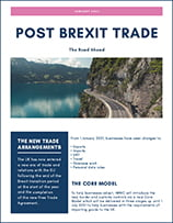 Post Brexit trade