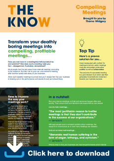 The Know - Compelling Meetings