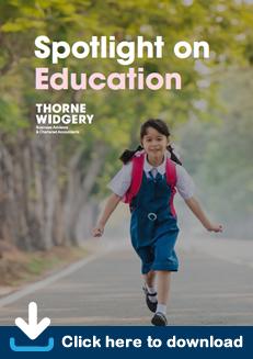 Spotlight on education